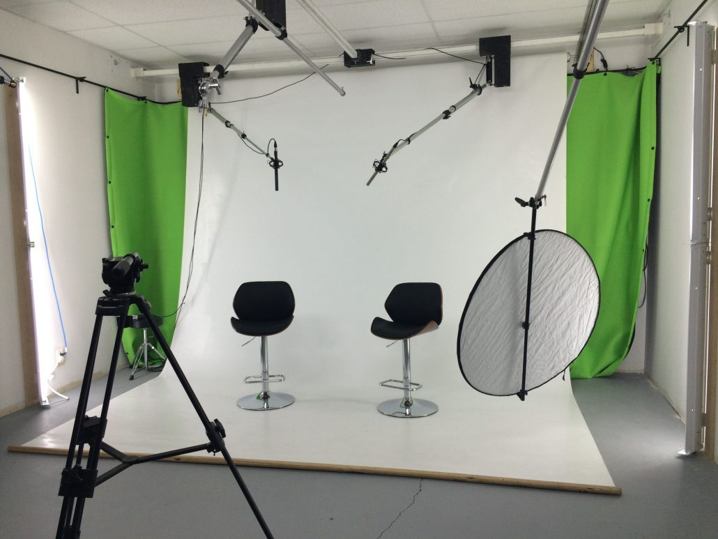 Ottawa Video Production Studio with white backdrop